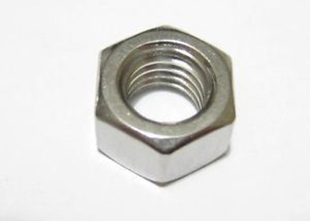 Picture of 316 Stainless Steel Hex Nuts Metric Size