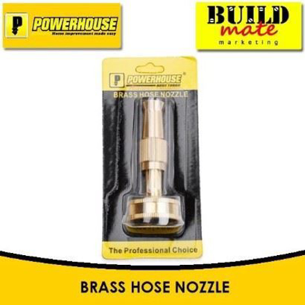 图片 Powerhouse Brass Hose Nozzle