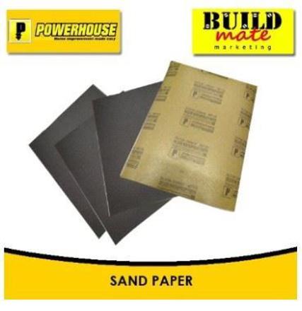 圖片 Powerhouse Waterproof Sandpaper No.60