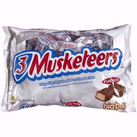 Picture of 3 Musketeers Fun Size Chocolate