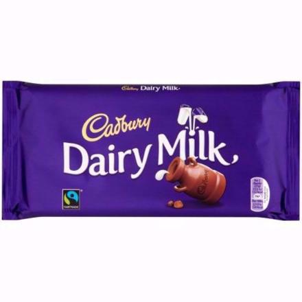 Picture of Cadbury Dairy Milk Chocolate 200g