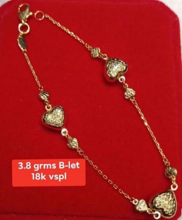 Picture of 18K - Saudi Gold Jewelry, Bracelet - 3.8G