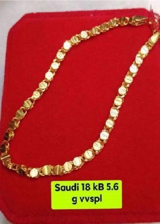Picture of 18K - Saudi Gold Jewelry, Bracelet - 5.6g