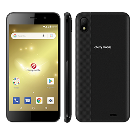 Picture of Cherry Mobile Android Go smartphone with a 5-inch display, 8 Megapixel rear camera and 2 Megapixel selfie camera, Flare J1 Lite