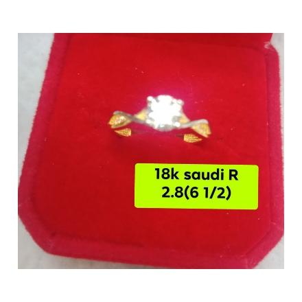图片 18K - Saudi Gold Ring - 2.8g_6 1/2