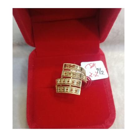 图片 18K - Saudi Gold Ring - SR2.2G-7 1/2
