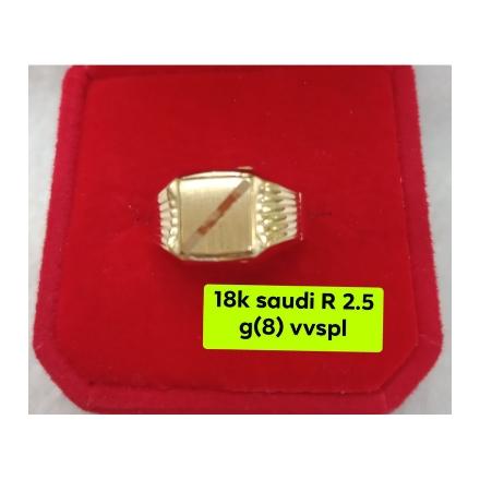 图片 18K - Saudi Gold Ring - SR2.5G-8