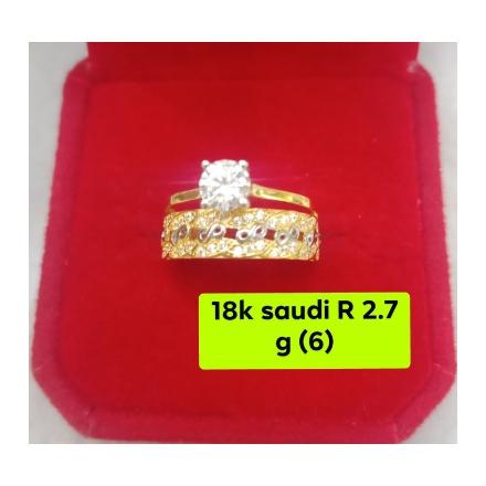图片 18K - Saudi Gold Ring - SR2.7G-6