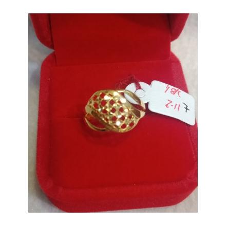 图片 18K - Saudi Gold Ring-  SR2.11G-7