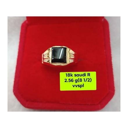 图片 18K - Saudi Gold Ring-  SR2.56G-8 ½
