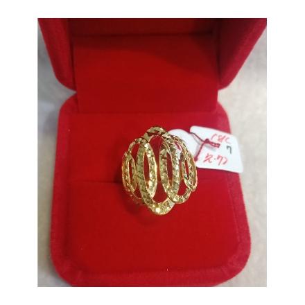 图片 18K - Saudi Gold Ring-  SR2.72G-7