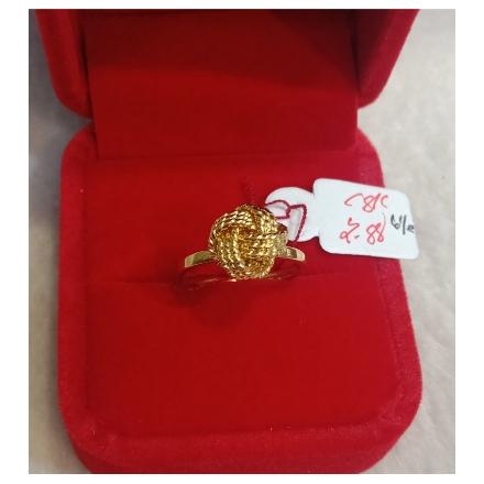 图片 18K - Saudi Gold Ring-  SR2.88G-6½