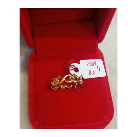 图片 18K - Saudi Gold Ring-  SR3.2G-7