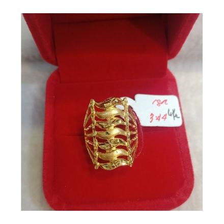 图片 18K - Saudi Gold Ring-  SR3.44G-6½