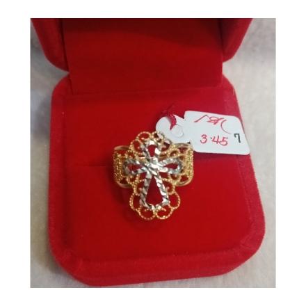 图片 18K - Saudi Gold Ring-  SR3.45G-7