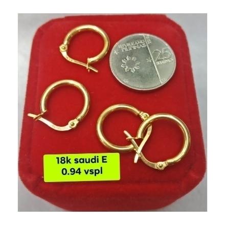 Picture of 18K - Saudi Gold Earrings- SE0.94G