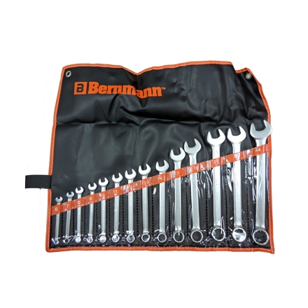Picture of Combination Wrench (14 Pieces) B-02-624PB