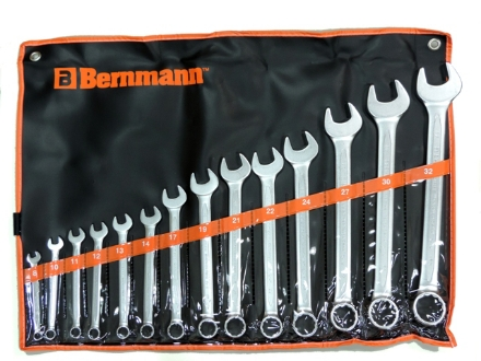 Picture of Combination Wrench (14 Pieces) B-02-832PB