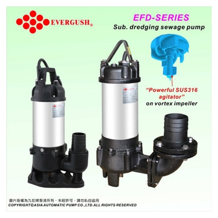 Picture of Submersible Dredging Sewage Pumps EFD-20