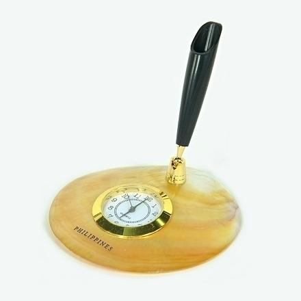图片 MOP With Clock And Pen Holder- DSC-5184