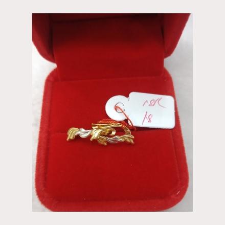 图片 18K - Saudi Gold Earrings 1.8g- SE18G