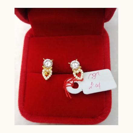 图片 18K - Saudi Gold Earrings 2.04g- SE204G