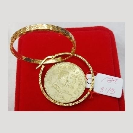 图片 18K - Saudi Gold Earrings 3.13g- SE313G