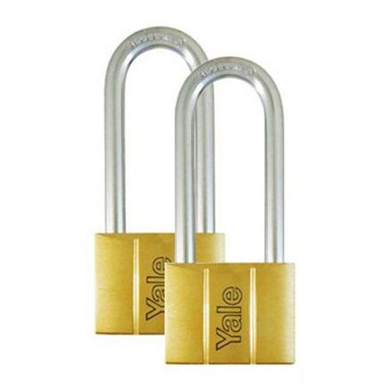 图片 Brass Padlocks Key Alike 2 Pieces, Multi-Pack V140.40LS60KA2