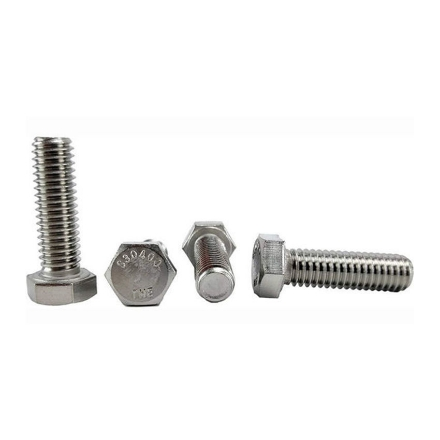 Picture of 304 Stainless Steel Hex Head Screw Bolts, Metric Size From M4 to M36,304STCS-M