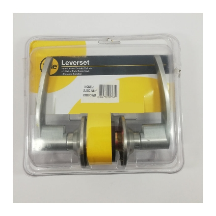 Picture of Yale VL4447 US27, Entrance Function Essential Series Cylindrical Lever Set, VL4447_US27