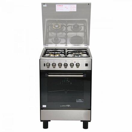 圖片 La Germania FS6031 21XTR 60cm range, 3 Gas + 1 Electric Hotplate   Gas Thermostat Oven with Safety Device │ Electric Grill with Rotisserie