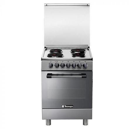 圖片 Tecnogas P3X66E04 60cm, 4 Electric Hotplates + Electric Multifunction Oven   Order Basis