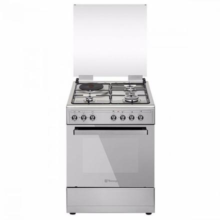 圖片 Tecnogas TFG6031DRX 60CM Range, 3 Gas Burners + 1 Electric Plate   Gas Oven + Electric Grill   Rotisserie