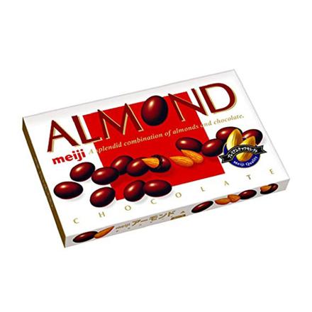 圖片 Meiji Almond Chocolate