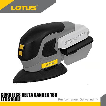 圖片 Lotus Delta Sander 18V X-LINE LTDS18VLI