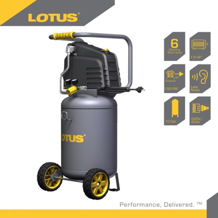 图片 Lotus Air Compressor 10G 1.5HP LTVC3800