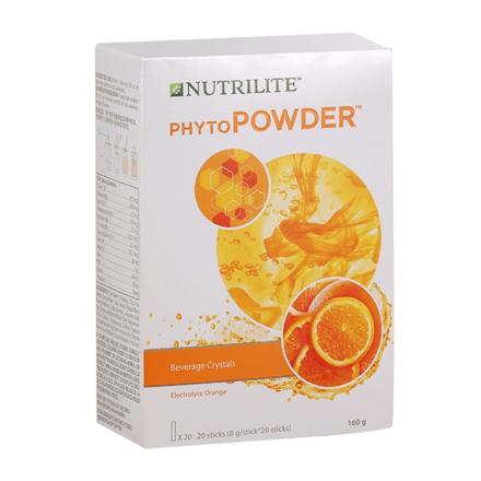 圖片 Nutrilite PhytoPowder Vitamins & Mineral Drink Mix ( Orange, Lemon)