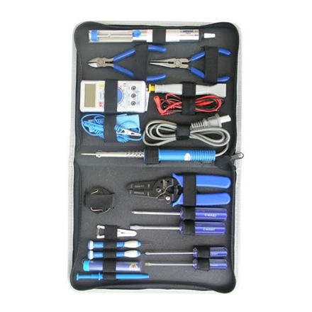 图片 19-Piece Electronic Tool Kit K0003
