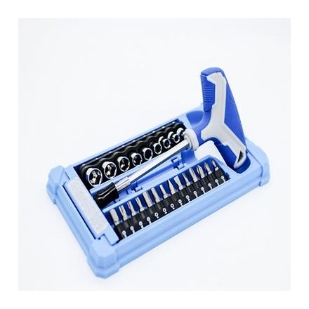 圖片 25-Piece T-handle Socket & Bit Set K0006A