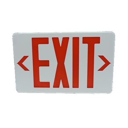 圖片 Exit Sign (Thermoplastic Housing) LED/X-202/R