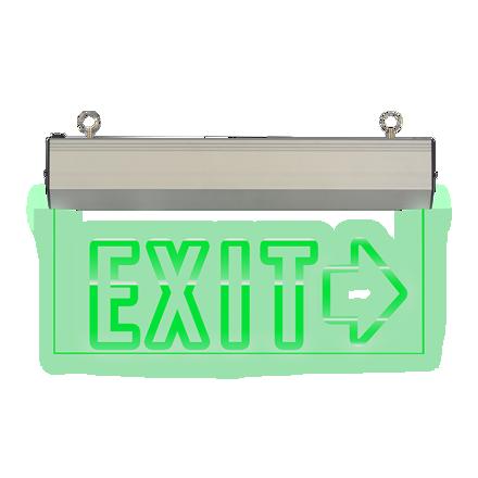 圖片 Exit Sign Right  Arrow (Acrylic) LED/X-200/R