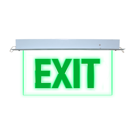 圖片 Exit Sign (Recessed) LED/X-300