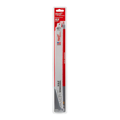 "Picture of 12"" 8TPI Wrecker Super Sawzall Blade 48-00-5711"