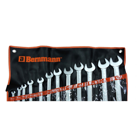 图片 Double Open End Wrench (12 Pieces) B-05-632PB
