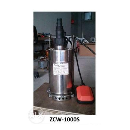 圖片 Submersible Pumps Clear Water Stainless Body ZCW-1000S