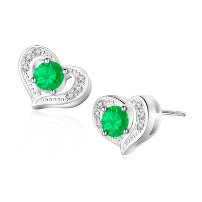 Picture of Birthstone Earrings- DS-017