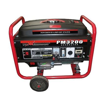 图片 Gasoline Generator OHV Forced Air-Cooled 4-Stroke PM3200/PM3200ES