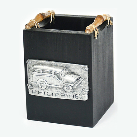 图片 Pen Holder Box with Jeepney- 0137-0638