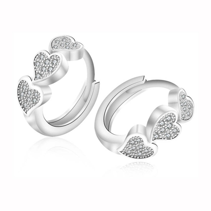 Picture of 925 Silver Jewelry,Clip Earrings- ER-519