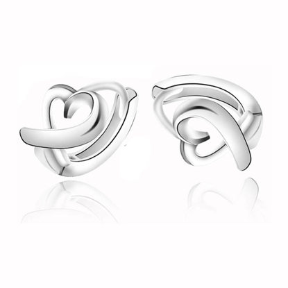 Picture of 925 Silver Jewelry,Clip Earrings- ER-524